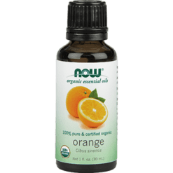 NOW Organic Orange Oil 1 fl oz N07440