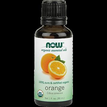 NOW Organic Orange Oil 1 fl oz N07440