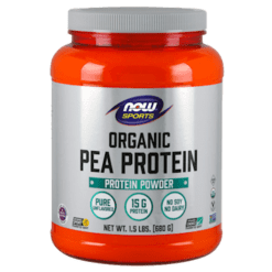 NOW Organic Pea Protein 1.5 lbs N21083