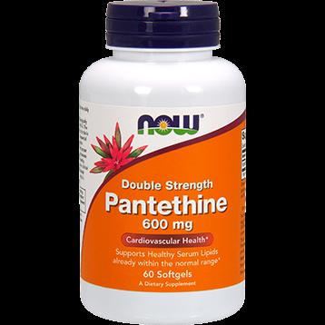 NOW Pantethine 600 mg 60 softgels N0489