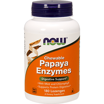 NOW Papaya Enzymes 180 loz N2970