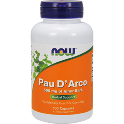 NOW Pau DArco 500 mg 100 caps N4725