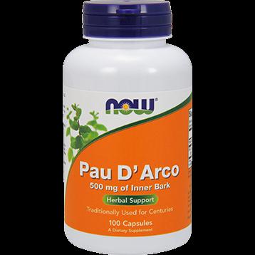 NOW Pau DArco 500 mg 100 caps N4725