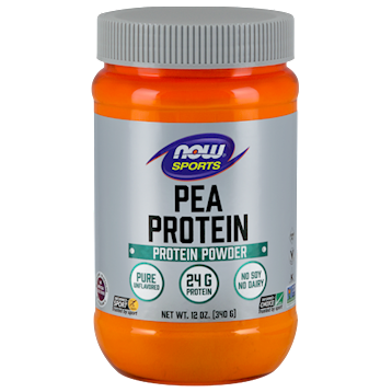 NOW Pea Protein Unflavored 12 oz N2132