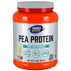 NOW Pea Protein Vanilla Toffee 2 lb N21342