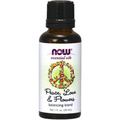 NOW Peace Love Flowers Oil Blend 1 fl oz N76342