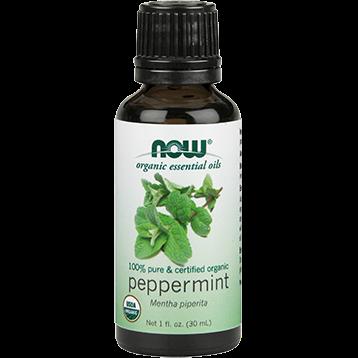 NOW Peppermint Oil Organic 1 fl oz N74522