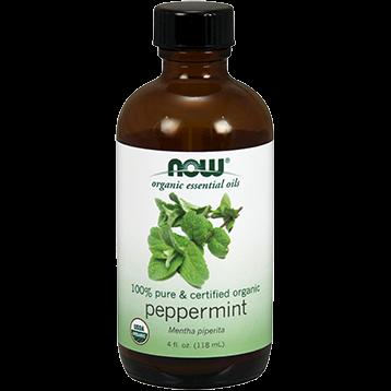 NOW Peppermint Oil Organic 4 fl oz N74577