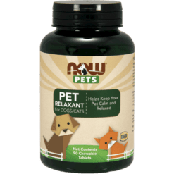 NOW Pet Relaxant for Dogs and Cats 90 tabs N43108