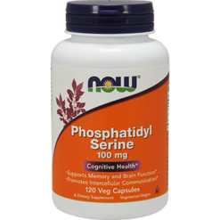 NOW Phosphatidyl Serine 100 mg 120 vegetarian capsules N2381