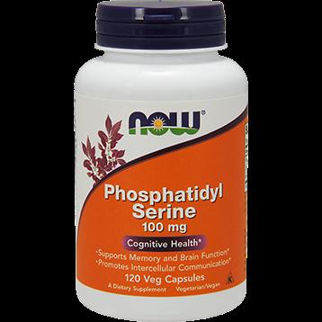 NOW Phosphatidyl Serine 100 mg 120 vegetarian capsules N2381