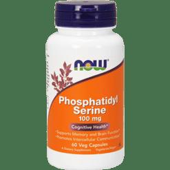 NOW Phosphatidyl Serine 100 mg 60 vcaps N2380