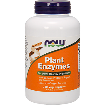 NOW Plant Enzymes 240 vcaps N2967