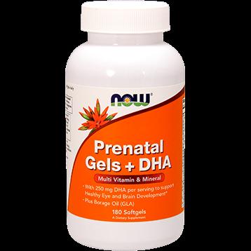 NOW Prenatal Gels amp DHA 180 gels N3811