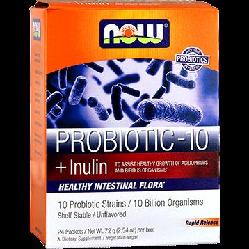 NOW Probiotic 10 Billion Sticks 24 pk N29294