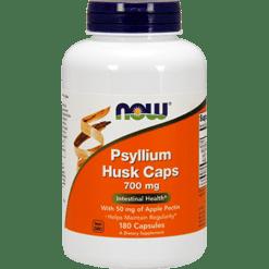 NOW Psyllium Husk Caps 700 mg 180 caps N5973
