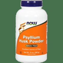 NOW Psyllium Husk Powder 12 oz N5975
