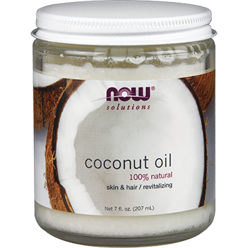 NOW Pure Coconut Oil 7 oz N76830
