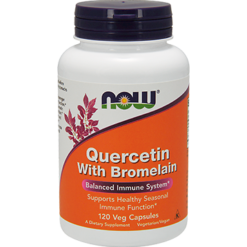 NOW Quercetin with Bromelain 120 vcaps N3070