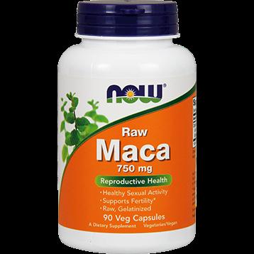 NOW Raw Maca 750 mg 90 vcaps N4777