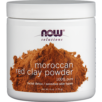 NOW Red Clay Powder 6 oz N81902