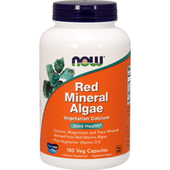 NOW Red Mineral Algae 180 vcaps N1538