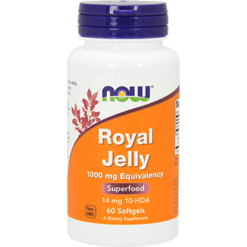 NOW Royal Jelly 1000 mg 60 softgels N2560