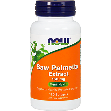NOW Saw Palmetto Extract 160 mg 120 softgels N4742