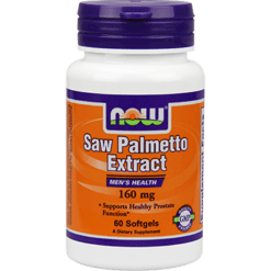 NOW Saw Palmetto Extract 160 mg 60 softgels N4740