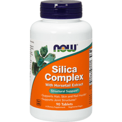 NOW Silica Complex 500 mg 8 Extract 90 tablets N1490