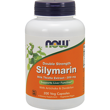 NOW Silymarin 2X 300 mg 200 vegcaps N47533