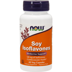 NOW Soy Isoflavones Ex Strength 60 vegcaps N3287