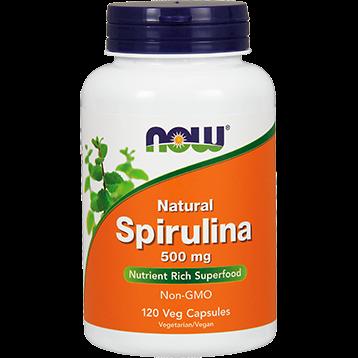 NOW Spirulina 500 mg 120 vcaps N2702