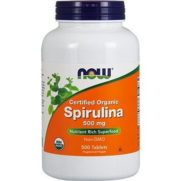 NOW Spirulina 500 mg 500 tabs N2700