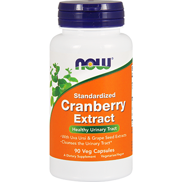 NOW Standardized Cranberry 90 vegetarian capsules N4632