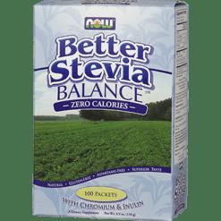 NOW Stevia Balance 100 pkts N6968