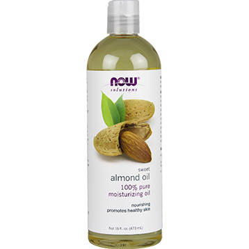 NOW Sweet Almond Oil 16 fl oz N7661