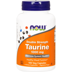 NOW Taurine 1000 mg 100 caps N01429