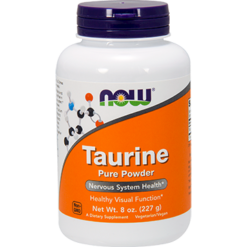 NOW Taurine Powder 100 Pure 8 oz N0260