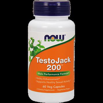 NOW TestoJack 200 Ex. Strength 60 vcaps N2198
