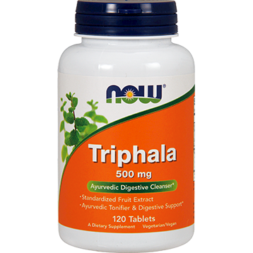 NOW Triphala 500 mg 120 tabs N4764