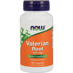 NOW Valerian Root 500 mg 100 caps N4770