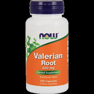 NOW Valerian Root 500 mg 100 caps N4770