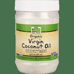 NOW Virgin Coconut Oil 20 fl oz N1726