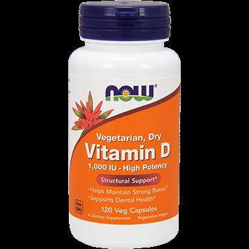 NOW Vitamin D 1000 IU 120 vcaps N0368