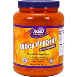 NOW Whey Protein Dutch Chocolate 2 lb N2180