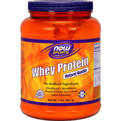 NOW Whey Protein Natural Vanilla 2 lbs N2185