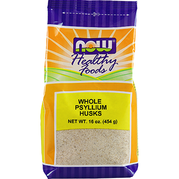 NOW Whole Psyllium Husk 1 lb N59819