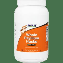 NOW Whole Psyllium Husk 24 oz N5982