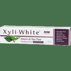 NOW Xyliwhite Neem amp Tea Tree 6.4 oz N81018